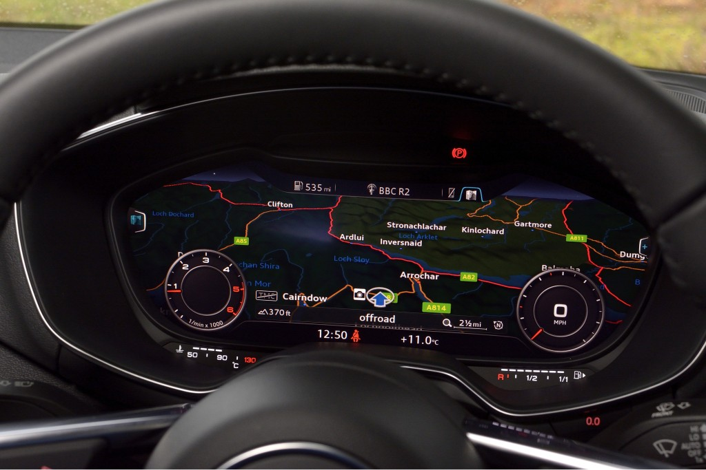 Audi TT TDI TFT Display