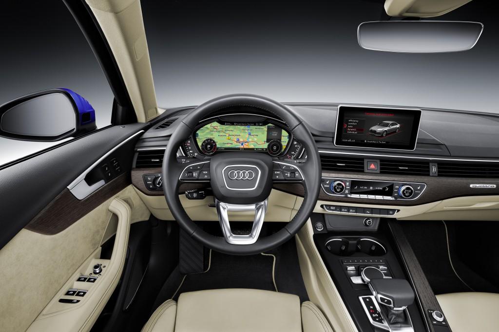 Audi A4 2.0 TFSI quattro Interior