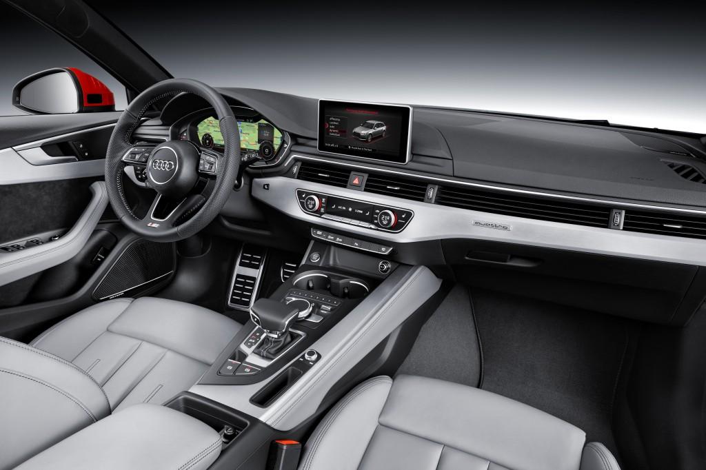 Audi A4 Avant 3.0 TDI quattro Interior