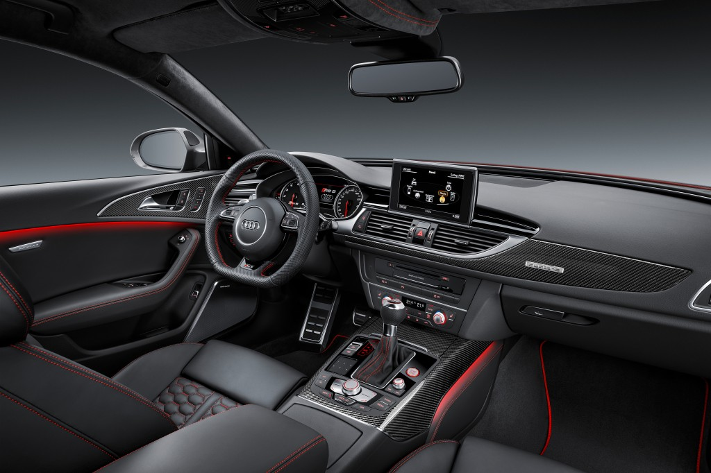 Audi RS6 Performance Interior