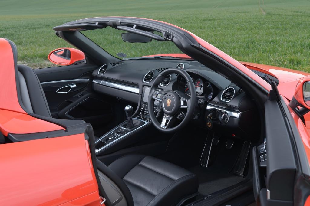 718 Boxster S Interior
